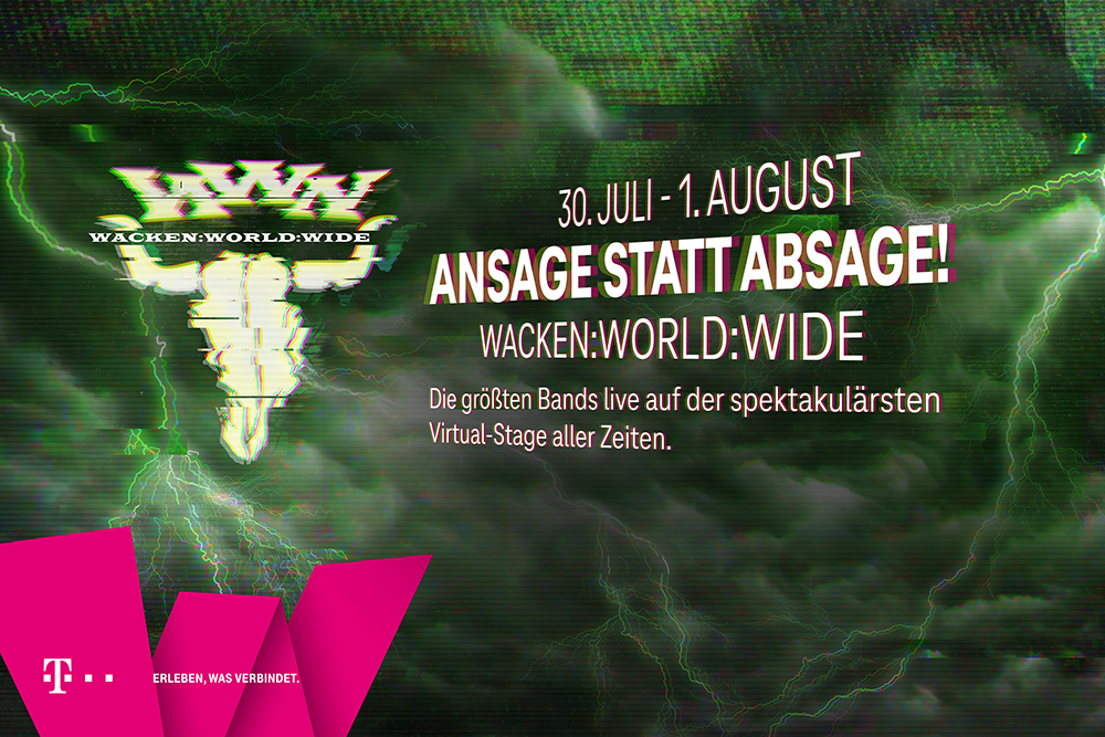 Online-Events im Juli: Wacken World Wide